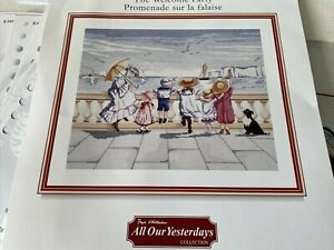 """All Our Yesterdays Counted Cross Stitch Kit Welcome Party DMC K4496 17"""" x 14"""""""