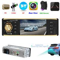 "4.1"" Single Car MP5 Player Radio Stereo Head Unit Bluetooth FM AUX USB TF 1 DIN"