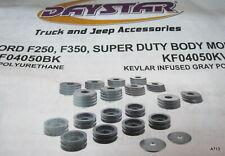 Daystar KF04050BK Polyurethane Replacement Body Mounts for F250/F-350 SuperDuty