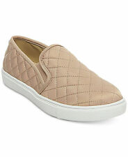 Steve Madden ECNTRCQT Quilted Sneakers Slip On Casual Women Shoes Blush NEW