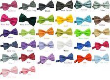 Mens Fashion Adjustable Multi Color Silk Self Bow Tie Necktie Ties New