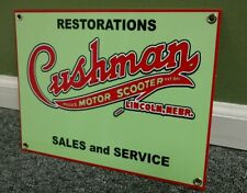 Cushman scooter sign