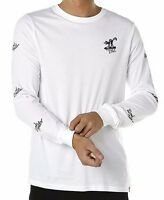 Element Bomb Hills White Skate Surf L/S Tee T-Shirt - Size L. NWT, RRP $59.99.