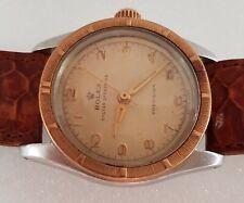 ROLEX Oyster Speed King Winding Wrist Watch, Gold Bezel, SWISS 5056, Exquisite