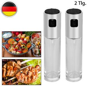 2 X Öl-Sprüher Essig Zerstäuber Für Salatdressing Kochspray Sprühflasche 100Ml