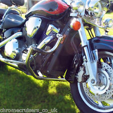 Honda VTX1800 RETRO Shadow Engine Crash Bar Guard with built in Highway Pegs