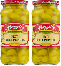 Mezzetta Hot Chili Peppers, ( 2 Pack ) 16.0 FL OZ 473 ML