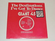 """THE DESTINATIONS i've got to dance / the hustle bus stop 12"""" RECORD DISCO SEALED"""
