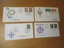 NATO Ersttagsbriefe, Sonderbriefe ab 1959