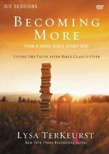 Becoming More Than a Good Bible Study Girl: a DVD Study : Living the Faith afte…