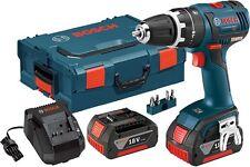 "Bosch HDS182-01L 18-Volt 1/2"" Brushless Cordless Hammer Drill/Driver Kit NEW"