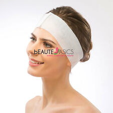 100 Disposable Stretch Headband with Hook & Loop Closure - #AH1058 x1