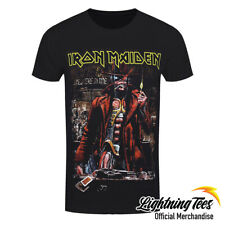 Official Iron Maiden Stranger Sepia Rock Band T-Shirt