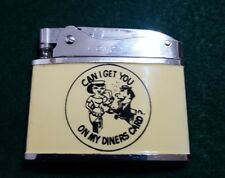 Vintage CMC CONTINENTAL can i get you on my diners card ?lighter Japan