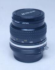 NIKON Nikkor 28mm f/3.5 Prime Lens for SLR DSLR Mirrorless Camera  Japan