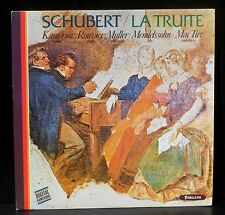 Schubert Truite D.667 Kantorow  Muller Mendelssohn Rouvier Mc Tier LP M, CV NM