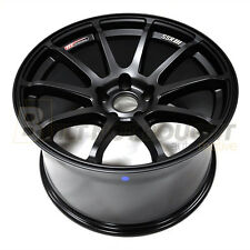 SSR GTV-02 18x9 +45mm offset 5x114.3 Flat Black Fits STI GTV02 T518900+4505GMB