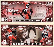 Harley Quinn - DC Comics Character Million Dollar Novelty Money