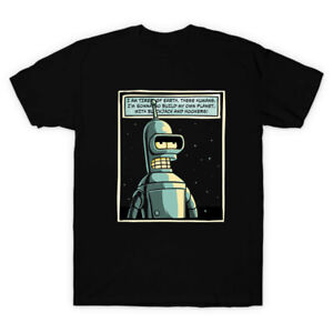 Watchmen Parody Bender Build A Planet Full Of Blackjack And Hooker Black T-shirt