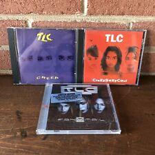 Lot of 3 TLC CD's: Creep Single, CrazySexyCool, & Fanmail