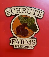 The Office Pin Shrute Farms Pin Dwight Shrute TV Show Enamel Brooch Badge Lapel