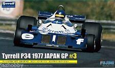 Fujimi GP-34 1/20 F1 Model Kit Elf Team Tyrrell P34 Long Wheel '77 #3 R.Peterson