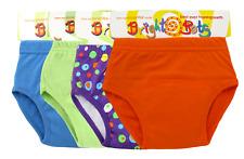 Bright Bots 4x Washable Potty Training Pull Up Pants Unisex Small upto 12m- SALE