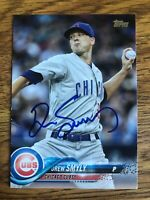 2018 Topps Drew Smyly #699 Auto Signed Autograph Cubs