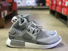 "Adidas NMD_XR1 ""WINTER"" Mens Grey/White Running Shoes ORIGINALS BZ0633 NEW Sz 12"