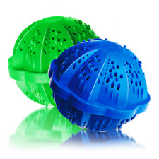 Eco Washing Machine Balls Tourmaline Spheres With Silver 2pcs