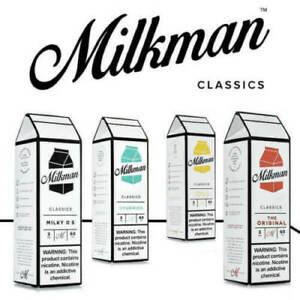 E Liquid 50ml The Milkman Premium Vape Juice 70VG 30PG 0MG Sub Ohm New
