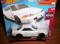 NISSAN SKYLINE  GT-R (BNR32) - HOT WHEELS - SCALA 1/64