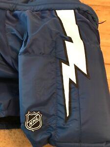 Tampa Bay Lightning Pro Stock Reebok Hockey Pants - SR -  XL