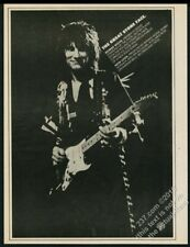 1975 Ronnie Ron Wood photo Now Look album release print ad