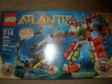 Retired~LEGO 8080 ATLANTIS Under Sea Explorer Transforms SPECIAL EDITION Gift