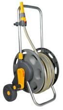 Hozelock 60M Assembled Hose Cart With 30M Garden Water Connector Reel Plastic