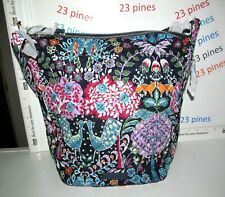 VERA BRADLEY CARSON HOBO BAG SHOULDER CROSSBODY FOX FOREST NWT