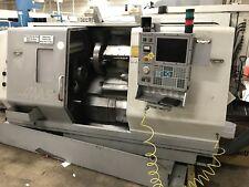 """Haas SL-30 CNC Lathe 2.5"""" Bar Cap 10"""" Chuck 14""""  x 34"""" 3400rpm 12 Tool 2000"""