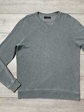 Mens ALLSAINTS Ramskull WILDE Crew Neck Jumper  Sweatshirt | Large L | Seal Grey