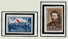 HUNGARY SC 938-9 NH imperf issue of 1951 - COMMUNE of PARIS