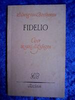 """""""Fidelio – Oper in zwei Aufzügen"""" von Ludwig van Beethoven (1952)"""