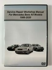 Service Repair Workshop Manual For Mercedes Benz All Models 1986-2020