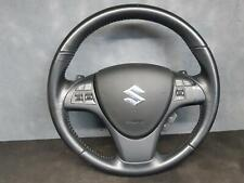 SUZUKI KIZASHI STEERING WHEEL LEATHER, BLACK, 12/2009 - 01/2017