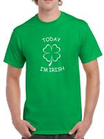Today I'm Irish T Shirt Funny Party T-Shirt Tee St Saint Patrick's Day Paddys