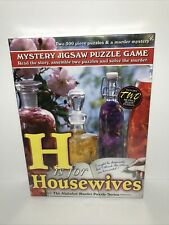 H is for Housewives Jigsaw Puzzle Game Mystery Set of 2 500 Piece Puzzles Sealed