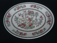 vintage johnson bros indian tree oval platter or dinner plate ( 6 available)