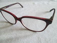 Bauhaus dark pink glasses frames. 7556.