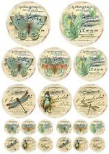 Decoupage-Serviettentechnik-Softpapier-Vintage-Schmetterling-12181