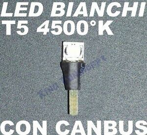 LED Bulb T5 White 4500 K SMD Lights Panel Painting Tools 1,2W 2,3W 12V