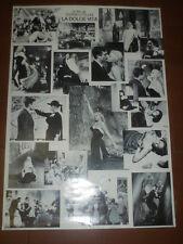 La dolce vita. Federico Fellini - Manifesto 100 x 70